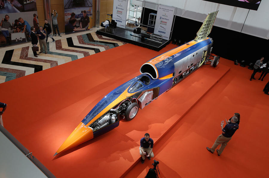 Bloodhound SSC - first supersonic record attempt in October 2017 ...
