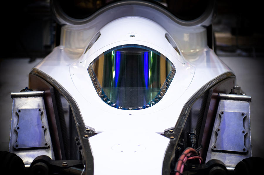 Bloodhound ready for South Africa test - cockpit