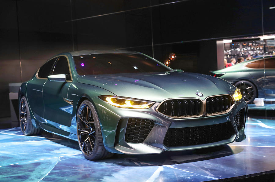 bmw concept m8 gran coupe previews new db11 rival autocar. Black Bedroom Furniture Sets. Home Design Ideas