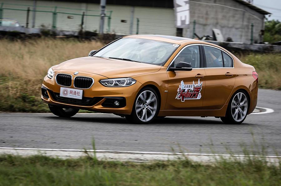 BMW 1 Series Saloon cornering