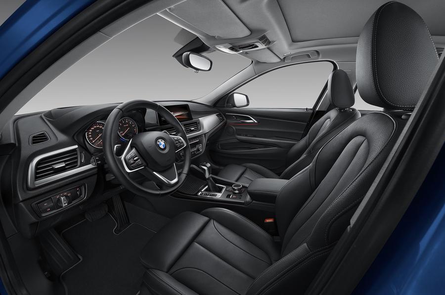 BMW 1 Series Saloon interior