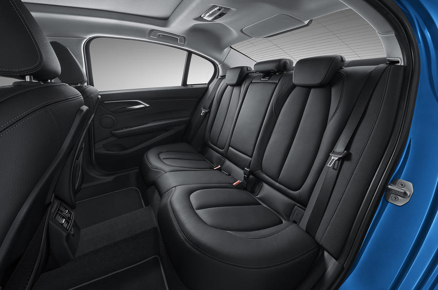 BMW 1 Series Saloon rear seats