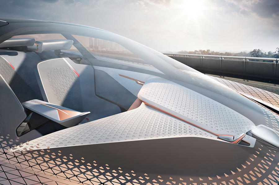 BMW Vision Next 100 concept car