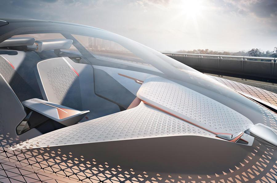 BMW Vision Next 100 concept car