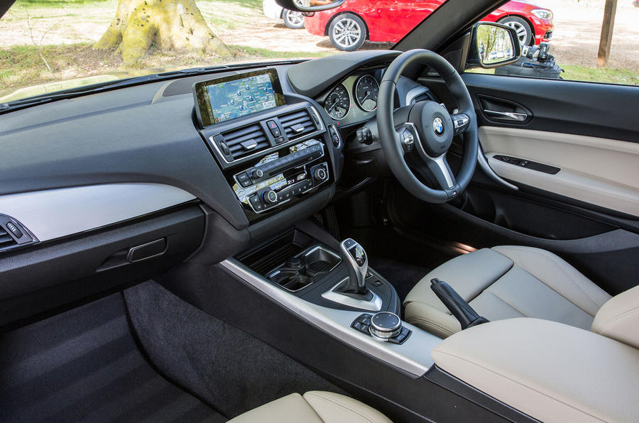BMW 125d M Sport dashboard