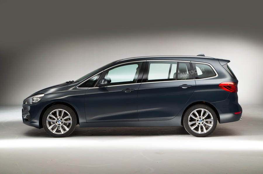 BMW 2 Series Gran Tourer Side Concept
