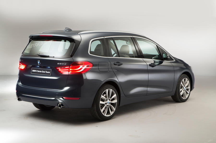 BMW 2 Series Gran Tourer Rear Concept