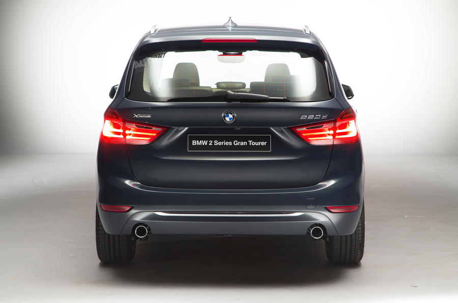 BMW 2 Series Gran Tourer Rear Concept Lights On