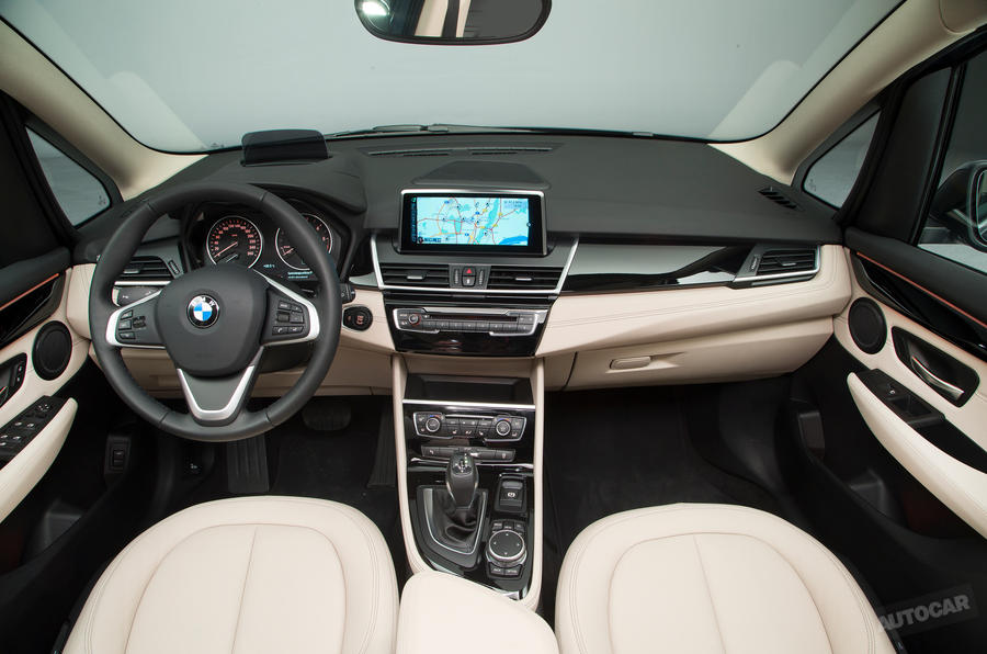 BMW 2 Series Gran Tourer Interior