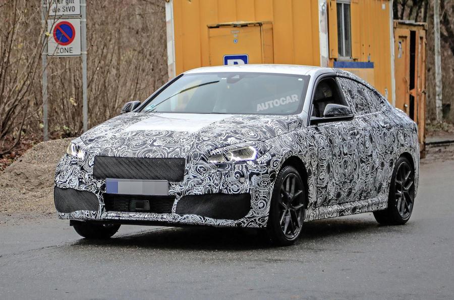 BMW 2 Series Gran Coupe spy shot