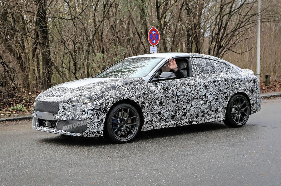 BMW 2 Series Gran Coupe spy shot
