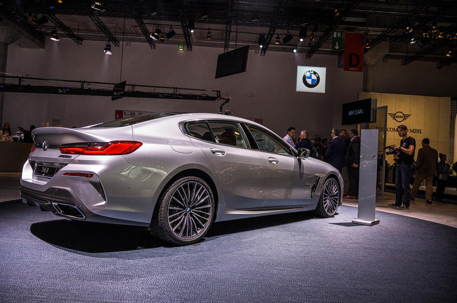 BMW 8 Series Gran Coupe at Frankfurt motor show