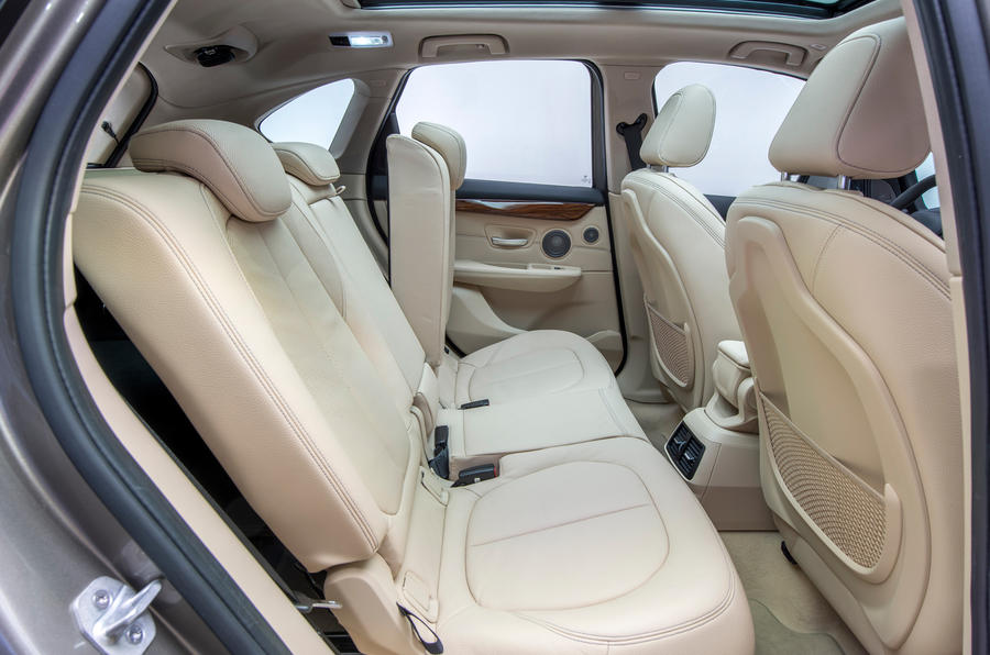 BMW 2 Series Active Tourer rear seats