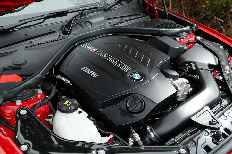 3.0-litre BMW M235i petrol engine
