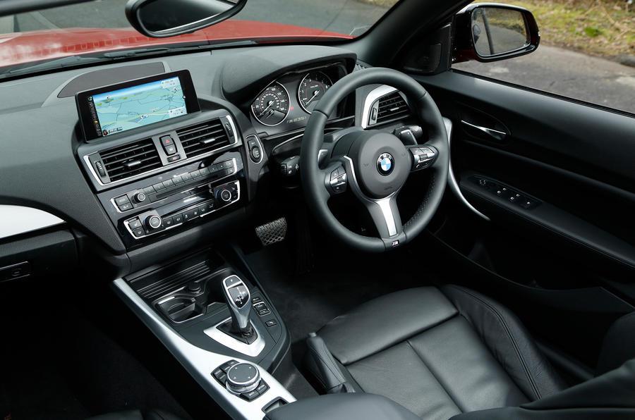 BMW M235i Dashboard Convertible Interior