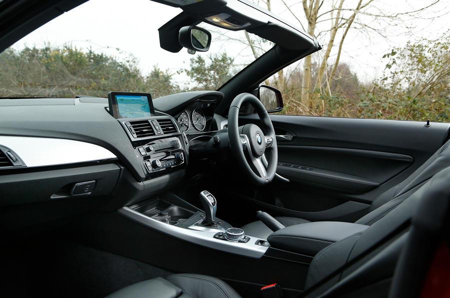 BMW M235i Convertible interior