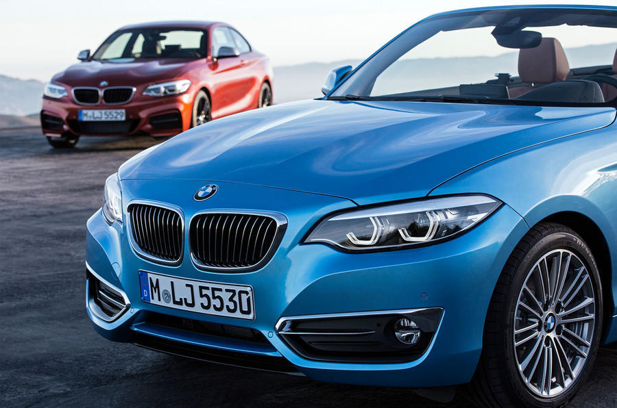 Bmw 2 series facelift