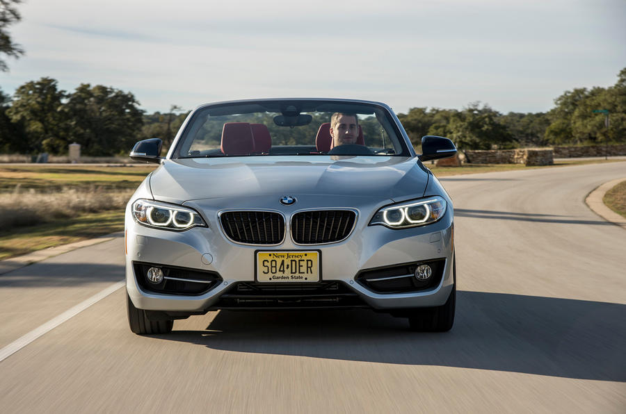 BMW 2 Series Convertible front end