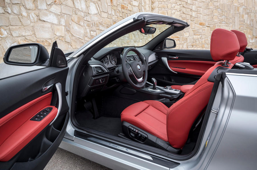 BMW 2 Series Convertible interior