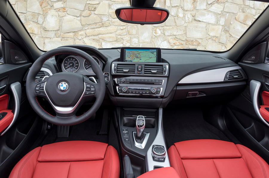 BMW 2 Series Convertible dashboard