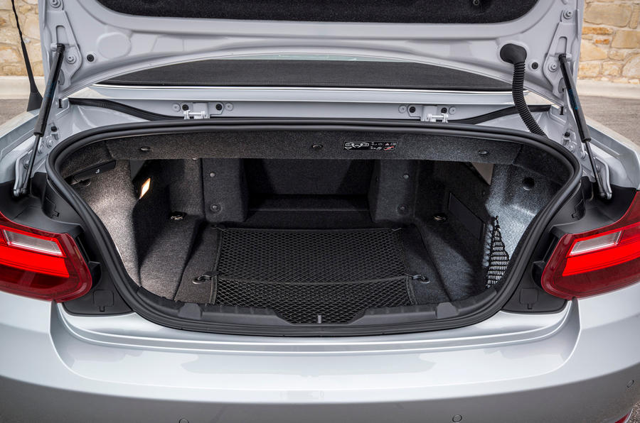 BMW 2 Series Convertible Boot Space