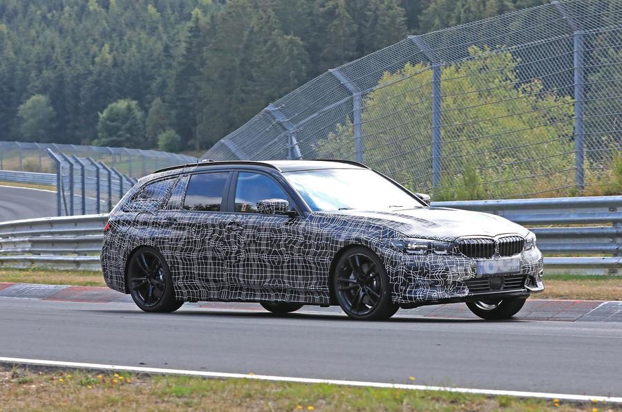 BMW 3-series Touring Nurburgring testing spied