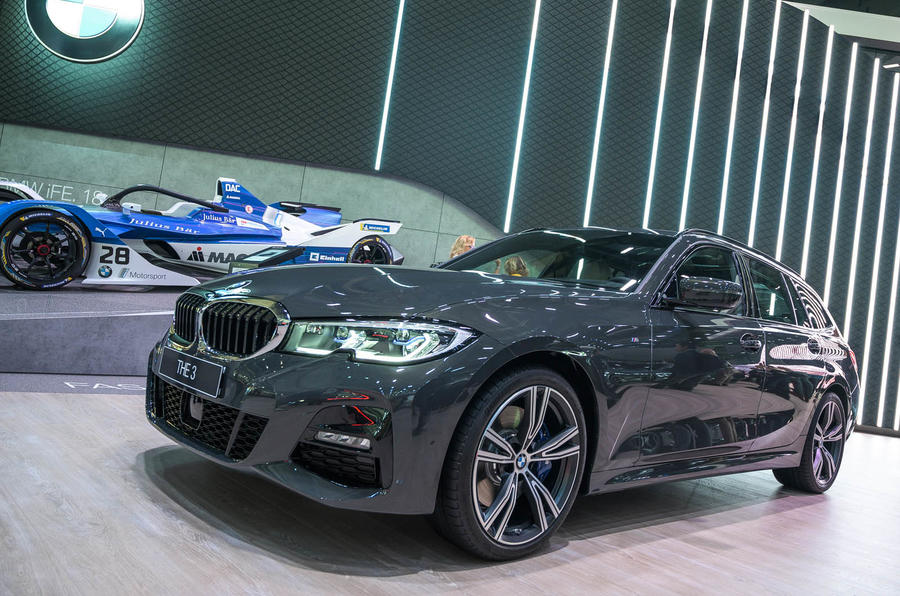 2020 BMW 3 Series Touring at Frankfurt motor show