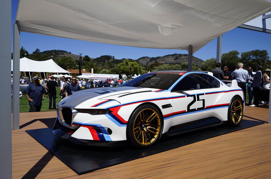 BMW 30 CSL Hommage R concept revealed  new pictures  Autocar