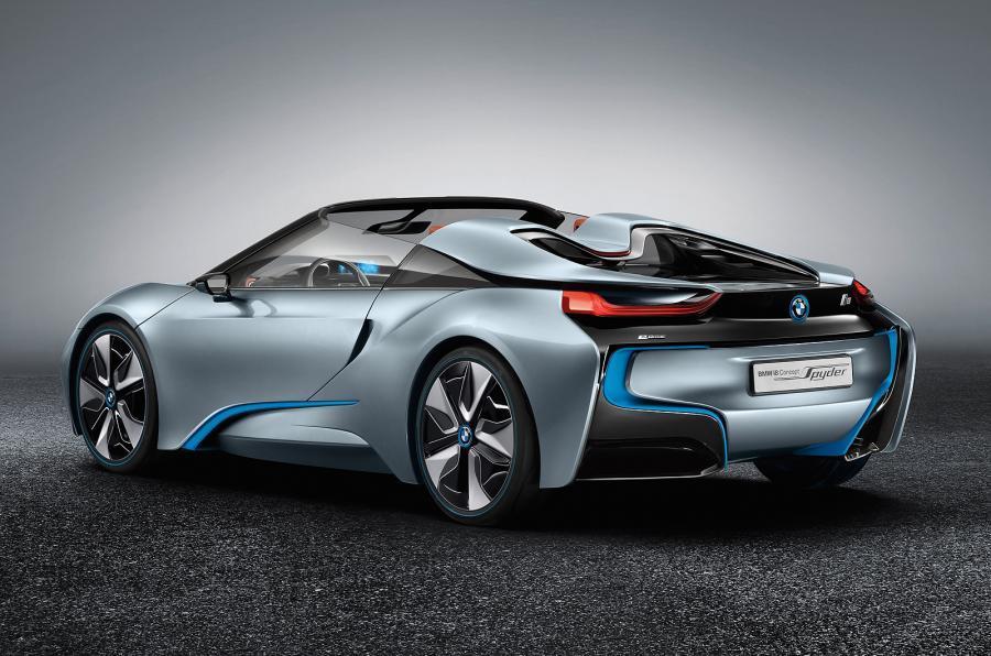 New BMW i8 Spyder concept set for CES debut | Autocar