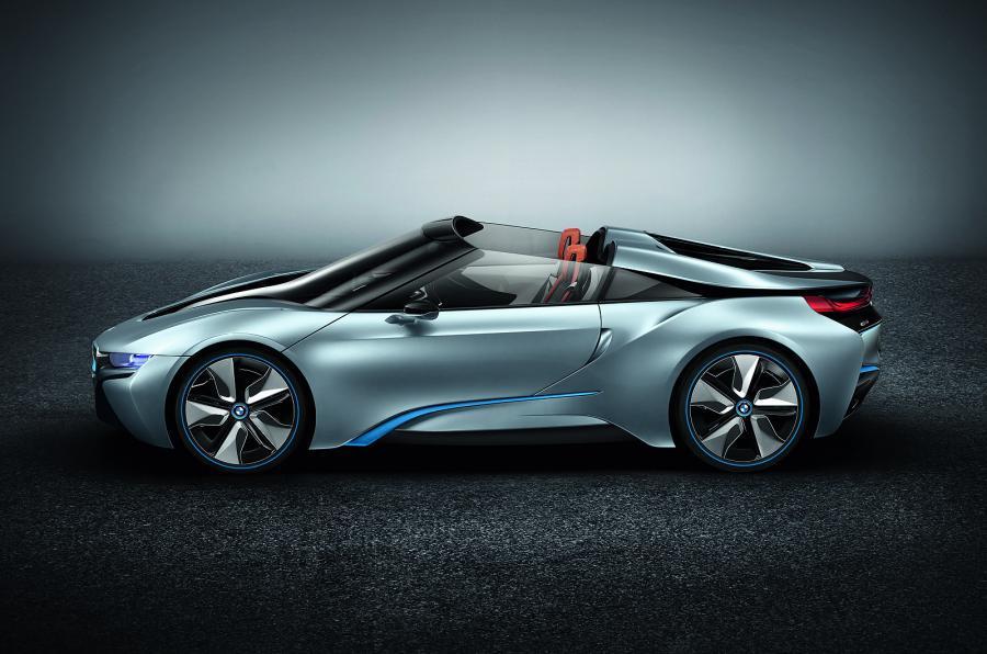 New Bmw I8 Spyder Concept Set For Ces Debut Autocar