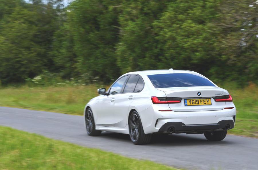 2019 BMW 330d UK review - rear