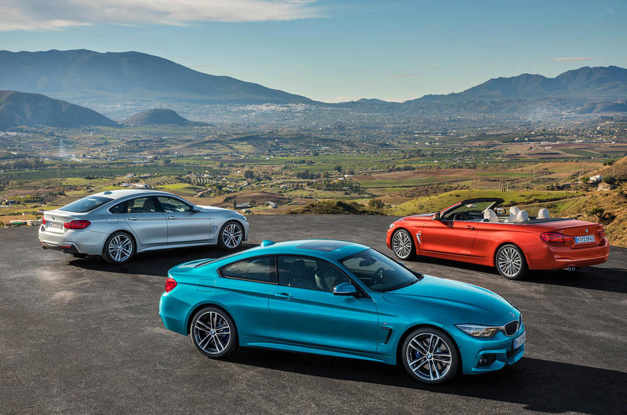 Updates for the BMW 4 Series bring subtle styling changes and new ...