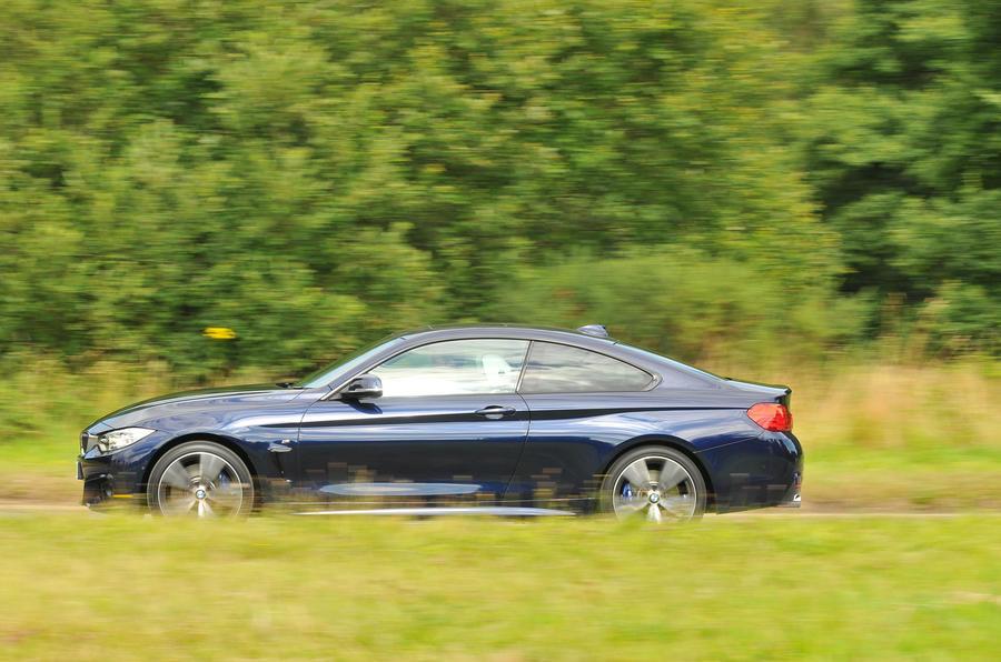 BMW 440i side profile