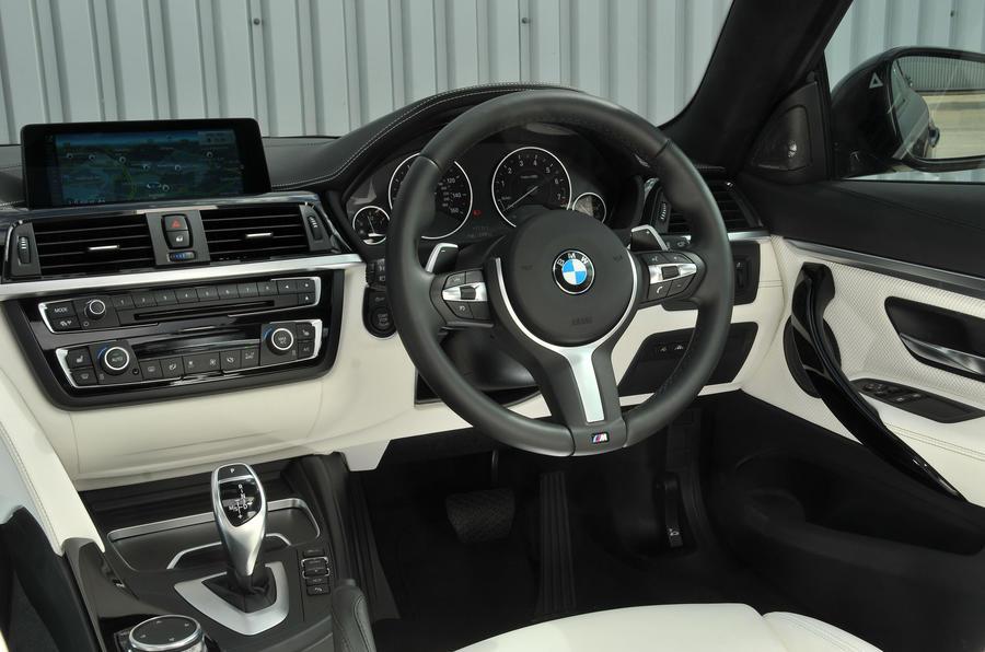 BMW 440i interior