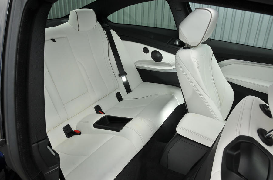 BMW 440i rear seats