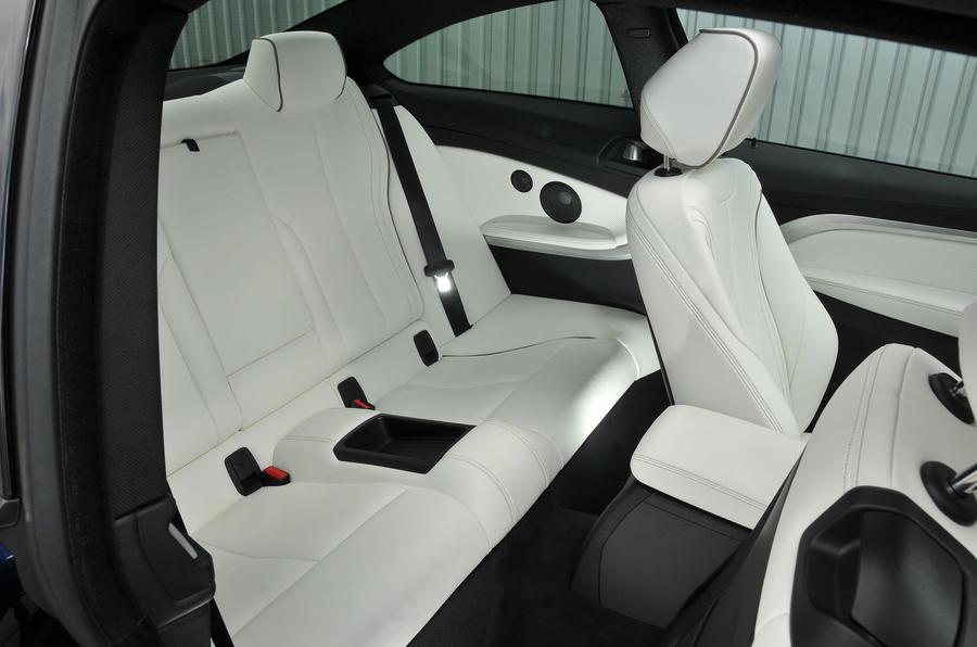 BMW 440i rear seats