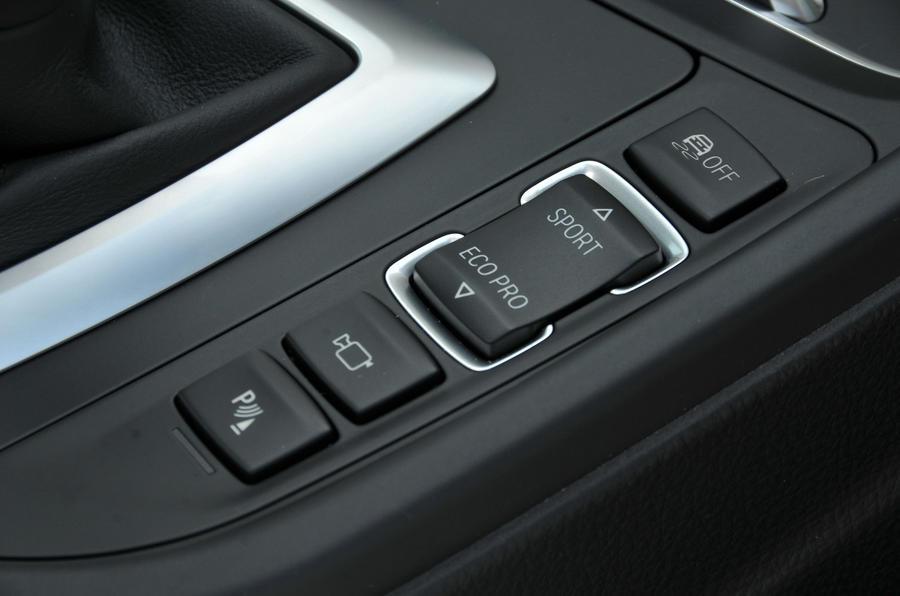 BMW 440i dynamic controls