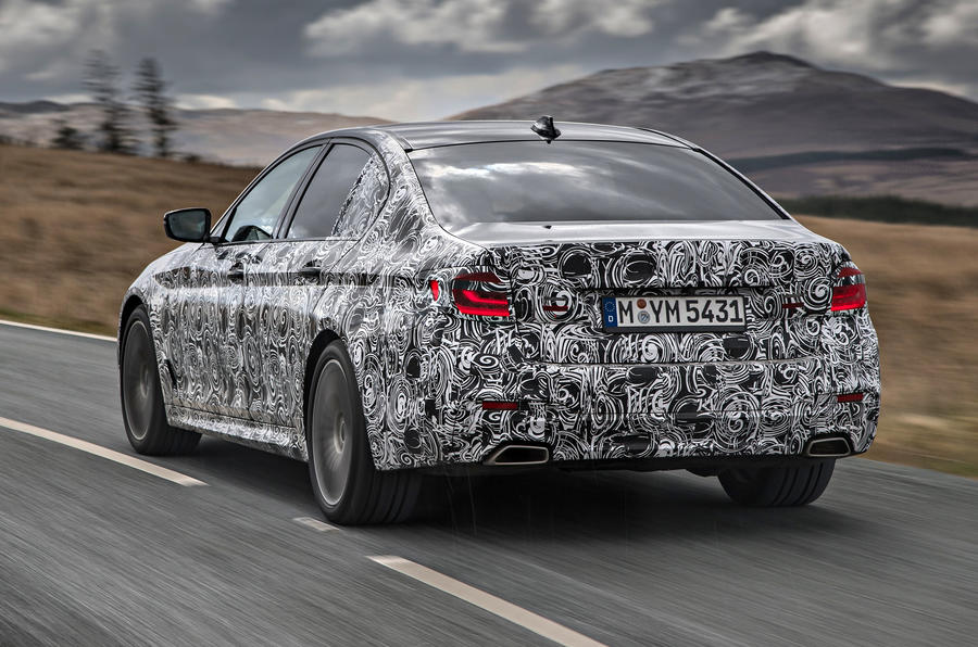 BMW 530i xDrive rear