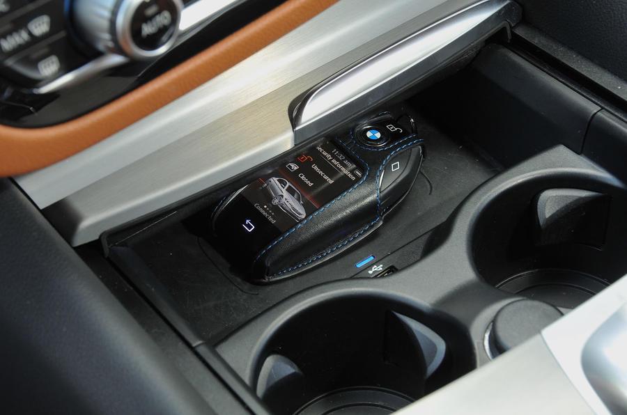 BMW 5 Series display key