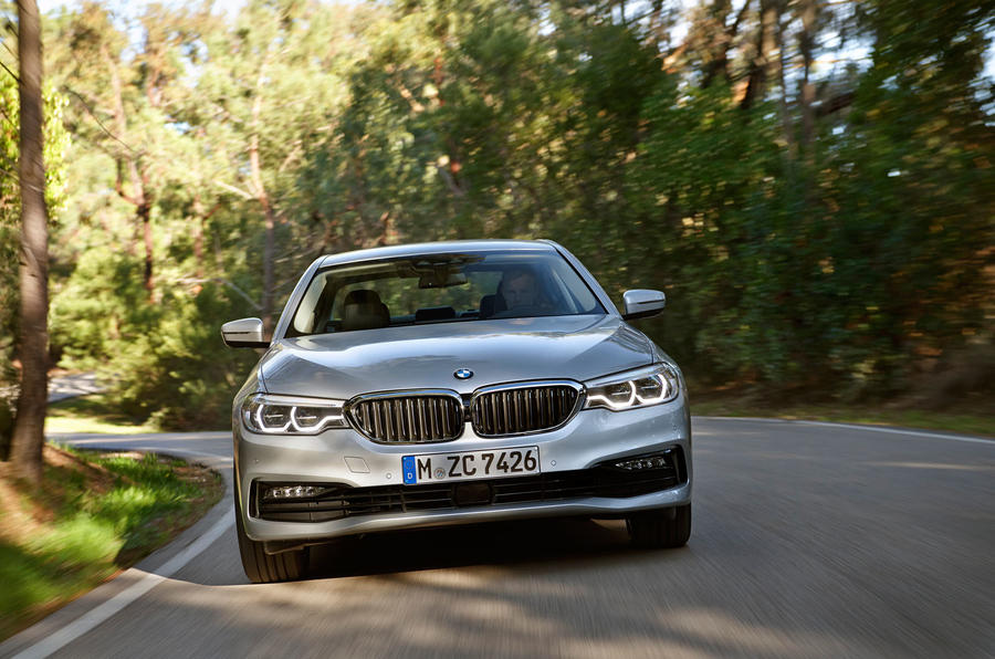 BMW 530e Performance front end