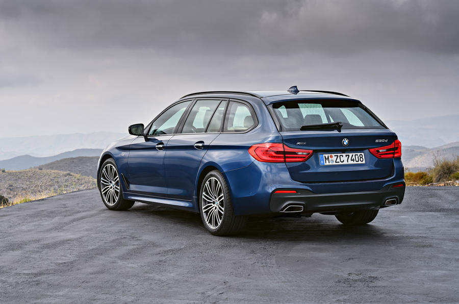 2017 Bmw 5 Series Touring Arrives As Brand U0026 39 S Most