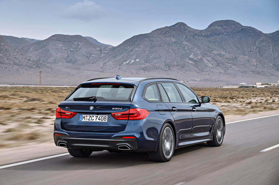 2017 Bmw 5 Series Touring Arrives As Brand S Most Practical Estate Autocar