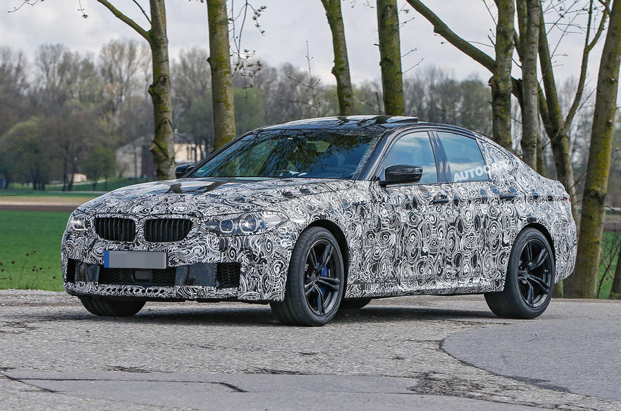 Bmw 1 Series New Model Release Date >> 2017 BMW M5 - latest spy shots reveal more of its design ...