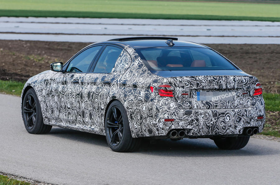 2017 BMW M5 - latest spy shots reveal more of its design ...