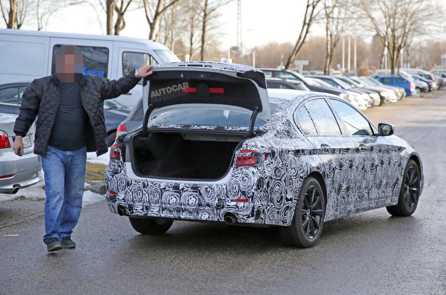 2017 BMW 5 Series - latest spy pictures