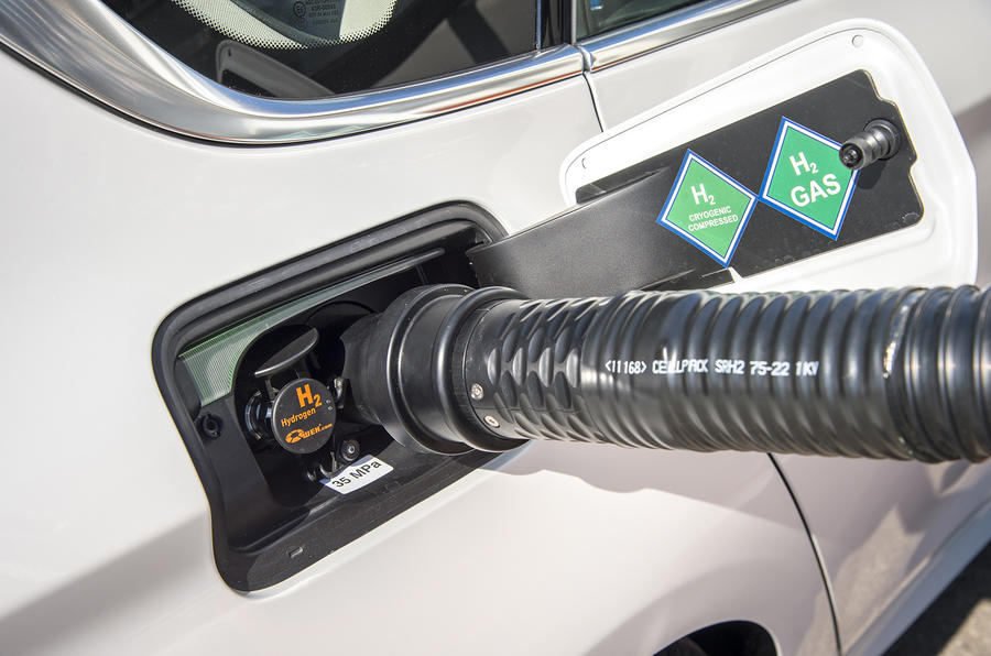 BMW 5 Series GT hydrogen refuelling