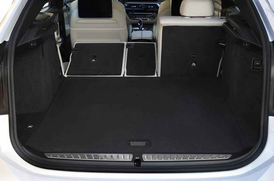 BMW 6 Series GT boot space
