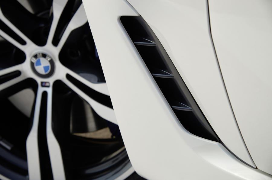 BMW 6 Series GT brake duct