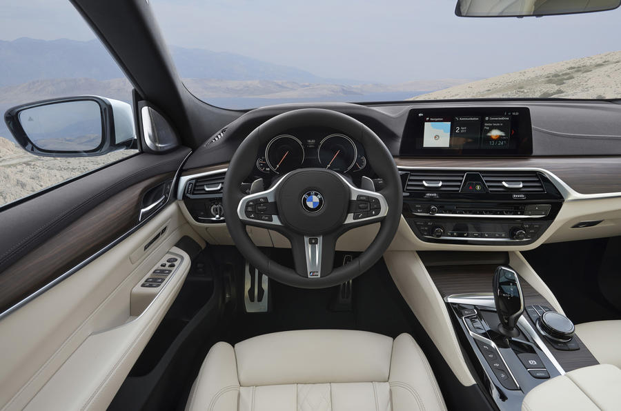 BMW 6 Series GT dashboard