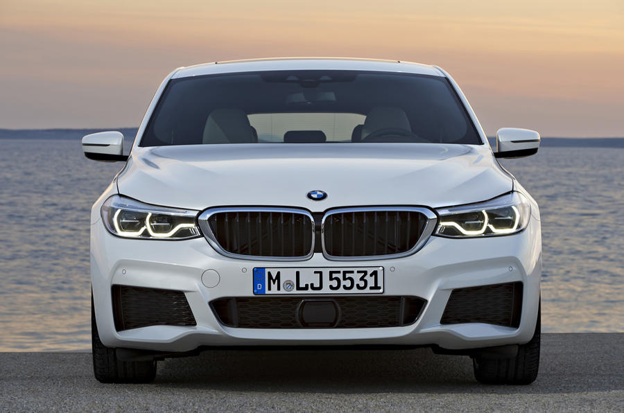 BMW 6 Series GT front end